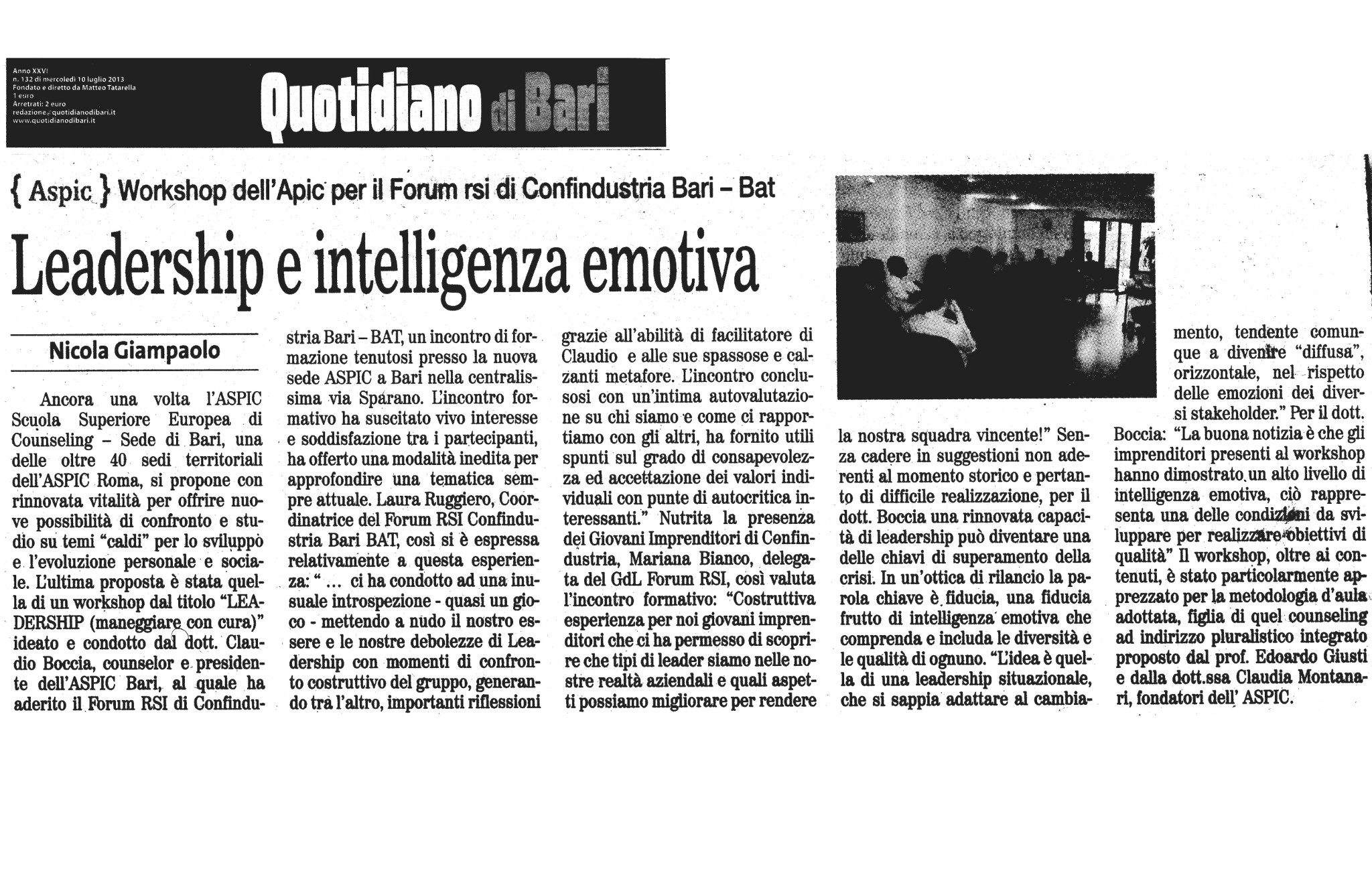 Leadership e Intelligenza emotiva