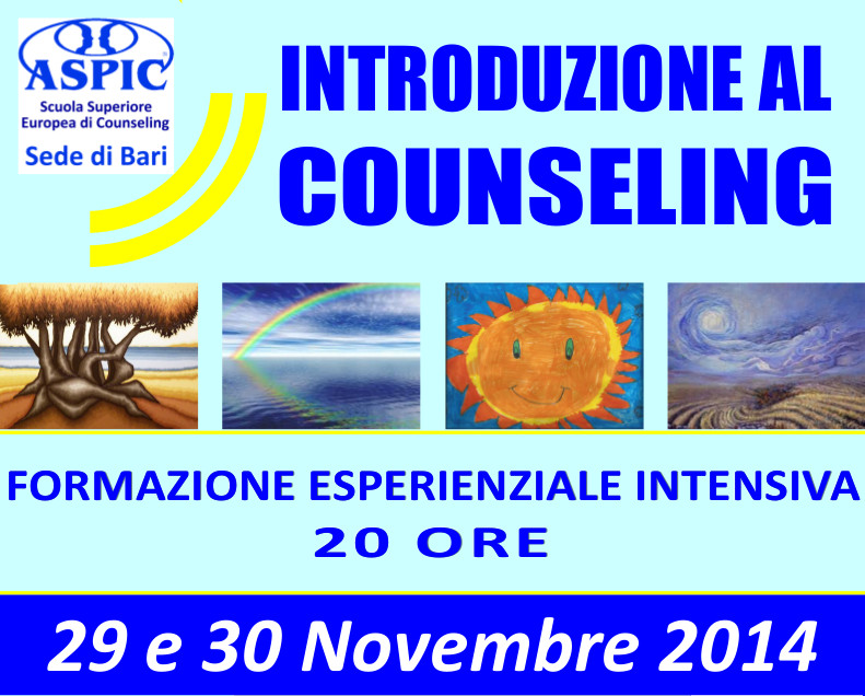 Intro al Counseling 2014