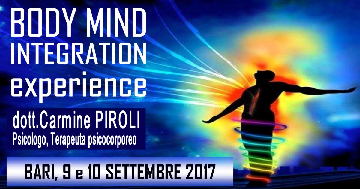 Body Mind integration 2017